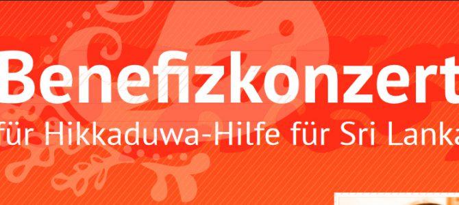 Benefizkonzert zugunsten des Hikkaduwa Vereins